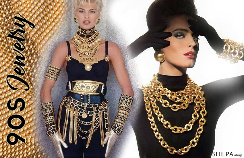 90s jewelry 90s-jewelry-trends-1990-jewellery-earring-stack-bracelets-trendy-accessories