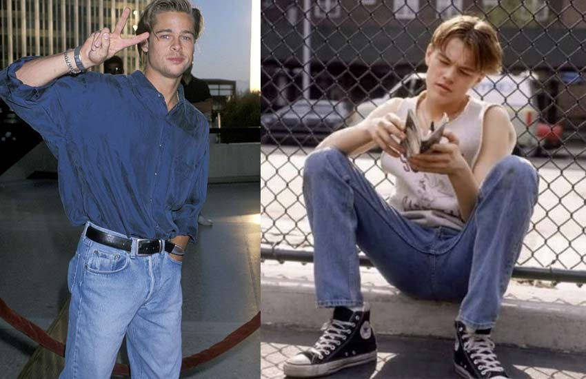 90s-mens-fashion-style-jeans-brad-pitt