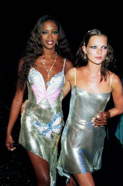 90s-supermodels-fashion-style-metallic-slip-dress-naomi-campbell-kate-moss