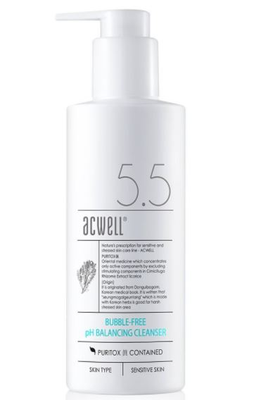ACWELL-Bubble-Free-pH-Balancing-foam-based-Cleanser