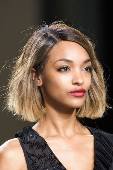 Jourdan Dunn-ombre-for-short-hair-sombre-balayage