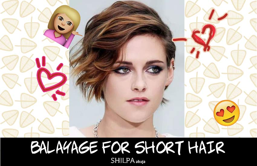 Balayage Short Hair balayage-short-hair-color-ideas-celeb-inspired-kristen-stewart