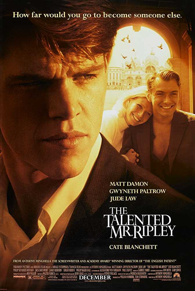 best-1990s-hollywood-movies (3)-the-talented-mr-ripley-matt-damon