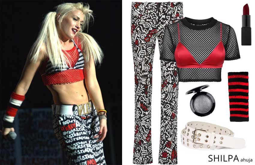 best-90s-themed-party-outfits-ideas-gwen-stefani-fashion-celeb-style-look-diy-costume