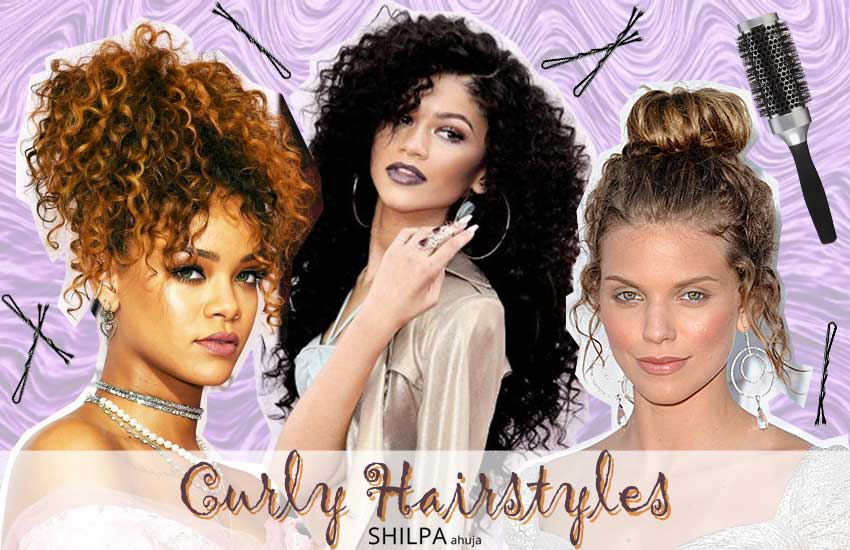 50 Easiest Curly Hairstyles & Haircuts for Long Curly Hair
