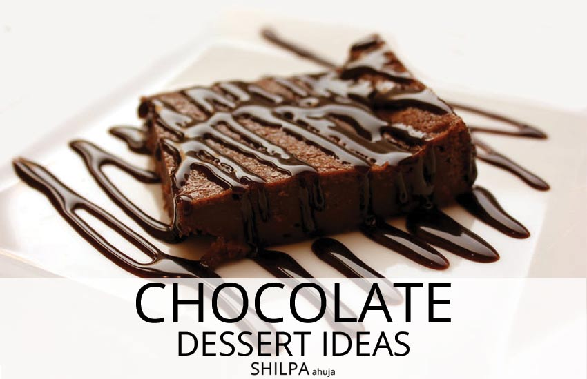 decadent chocolate dessert ideas simple-quick-baking-recipes-brownies