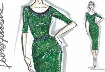 fashion design sketches-dolce-gabbana-designing-dress