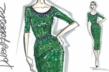 fashion design sketches-dolce-gabbana-designing-dress