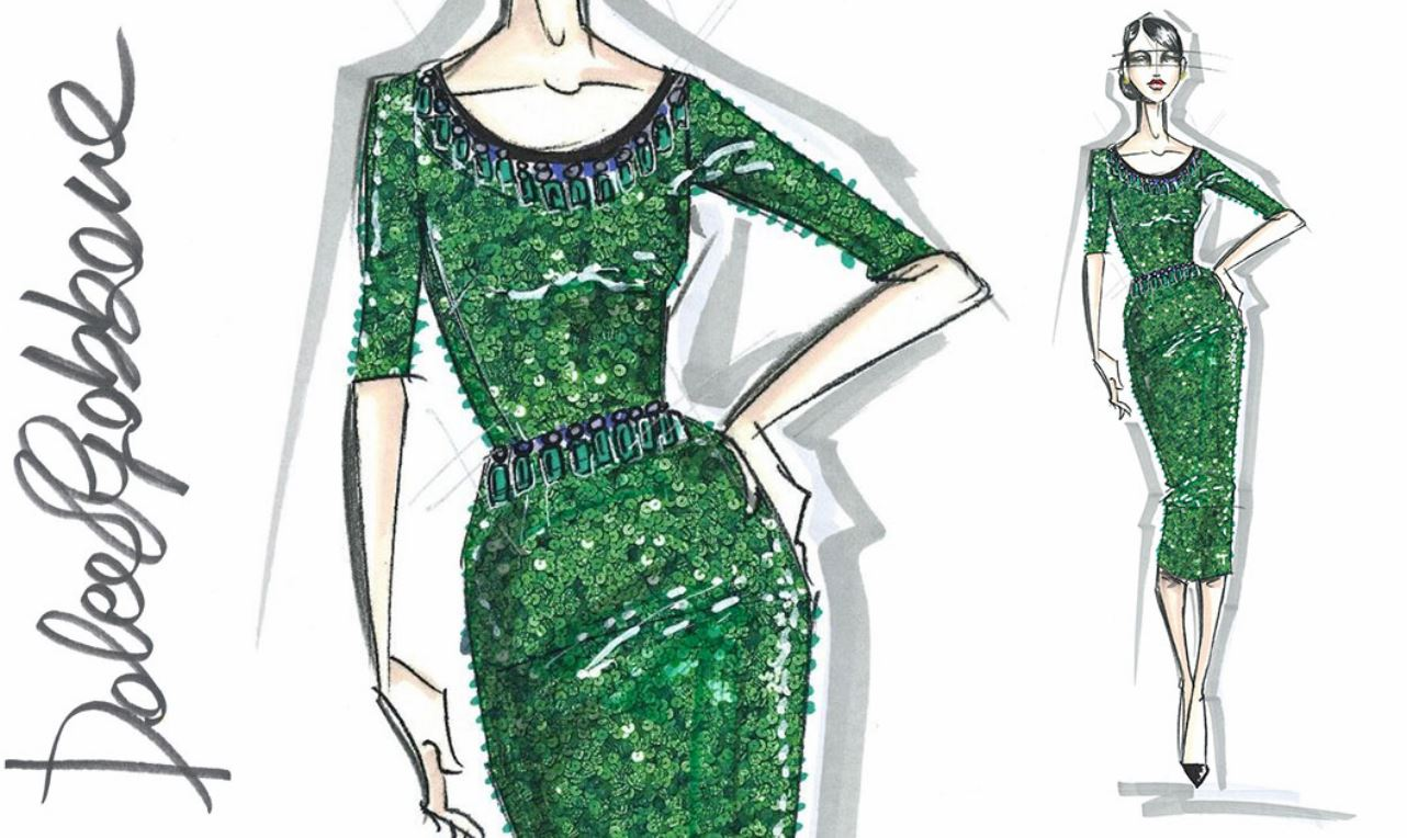 Fashion Design Sketches By World S Top Fashion Designers