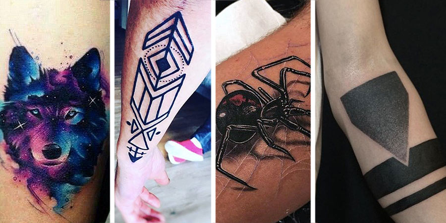 forearm-tattoo-trends-black-out-tattoo-men-3d-desogns