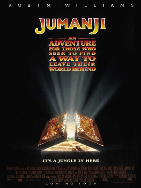jumanji-adventure-90s-hollywood-movies-to-watch