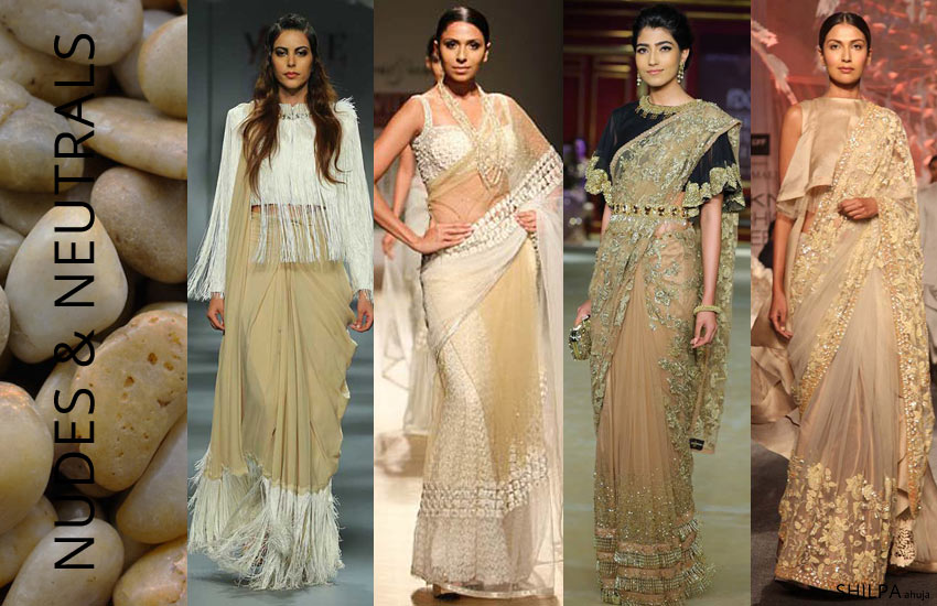 Latest Saree Colors for 2018: Bollywood & Fashion Week ...