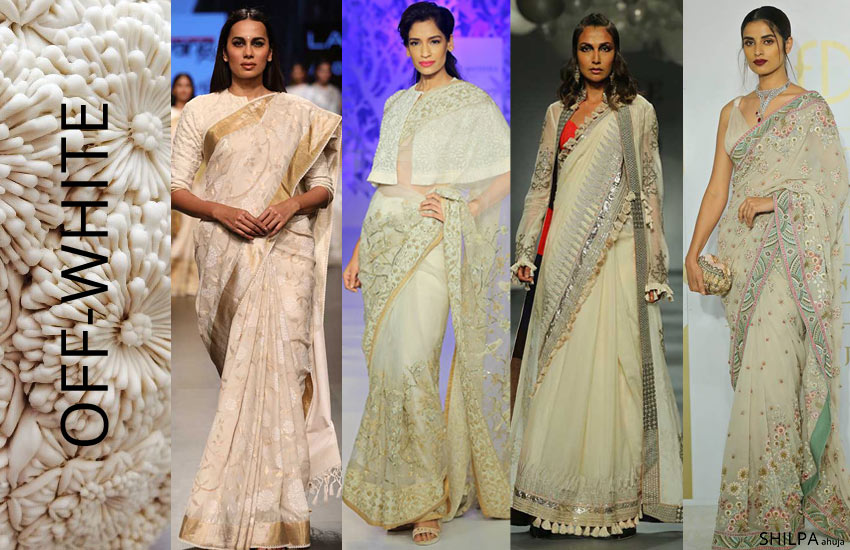 latest-color-trends-sarees-womens-fashion-OFF-WHITE-style-spring-summer-2018