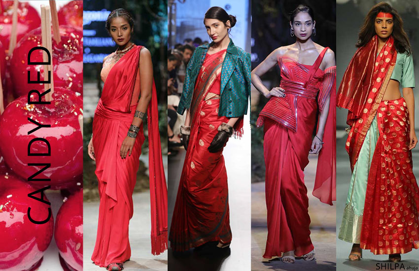latest-trending-saree-colors-CANDY-RED-fashion-wedding-SS18