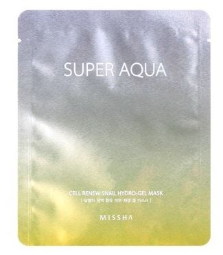 missha-aqua-Snail-Hydro-Gel-Mask-sheet-korean-beauty