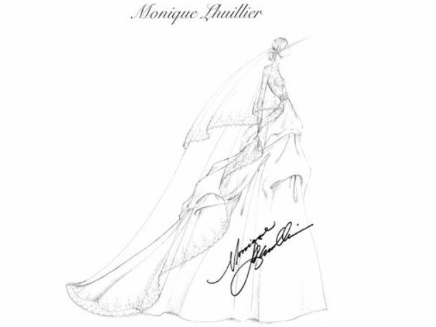 monique-lhuillier-fashion design sketches-designing-bridal-gown