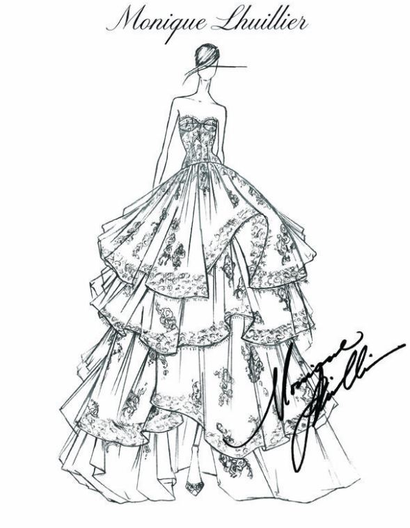 Fashion Design Sketches by World\'s Top Fashion Designers