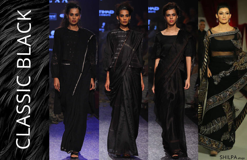 saree-colors-trends-fashion-style-classic-Black-spring-summer-2018