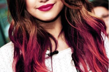 selena-gomez-red-highlights-balayage-latest-hair-color-ideas