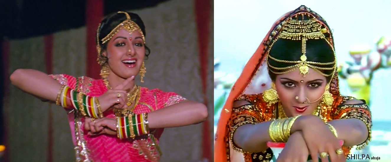 sri-devi-gold-jewelry-bangles-80s-bollywood-fashion
