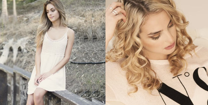 Ombre-colored-hairs-pretty-hairstyles-curls-wavy