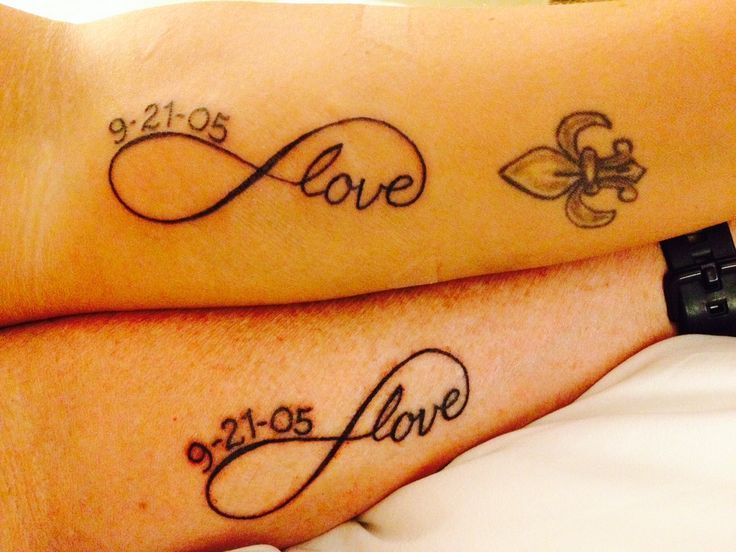 anniversary-tattoo-couple-ideas-king-queen-husband-wife-tattoos