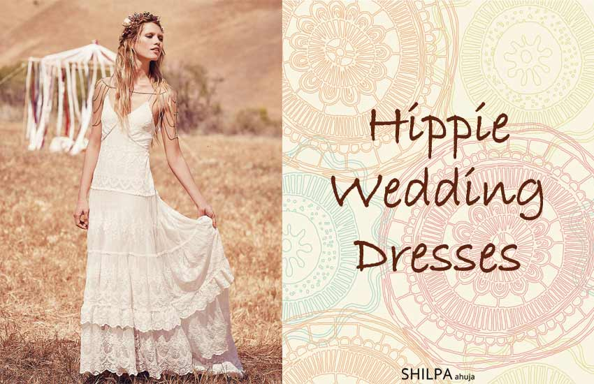 6b6b1877e47e 55 Hippie Wedding Dresses | Best Ideas for Bohemian Wedding Dress