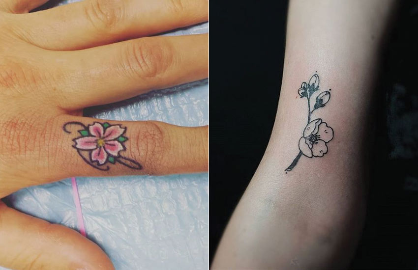 best-cherry-blossom-flower-tattoo-ideas-design-small-simple