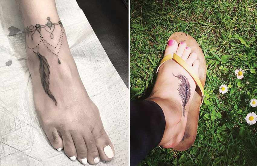 best-foot-feather-tattoo-ankle-chandelier-jewel-art-design