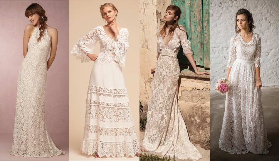 55 Hippie Wedding Dresses