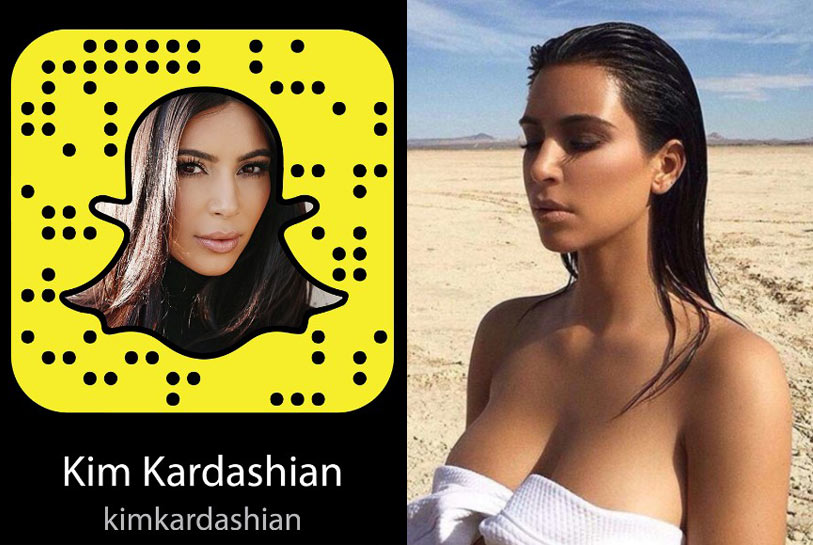 best-snapchat-nudes-kim-kardashian-to-follow-hot-pictures-account