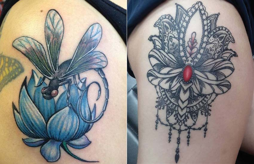 dragonfly-lotus-flower-tattoo-trend-women-ideas-meaning