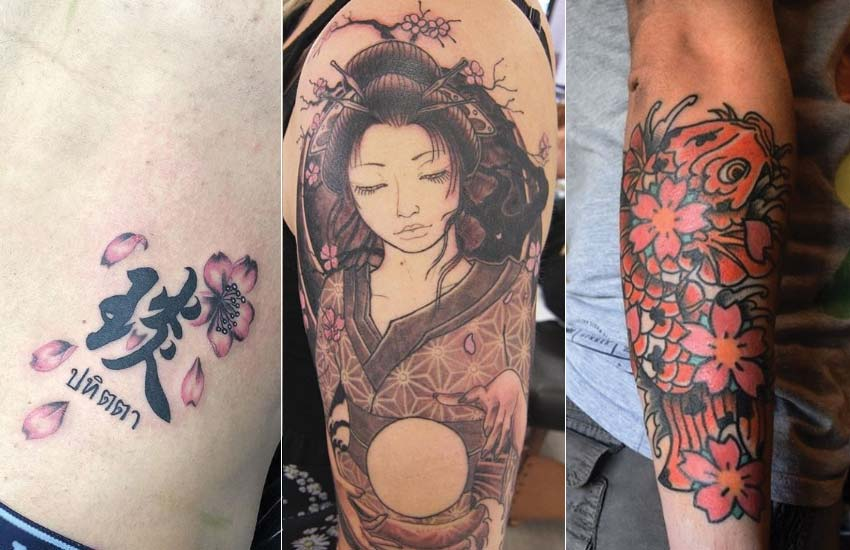 8568b86604342 Cherry Blossom Tattoo: Meaning, Designs, Ideas and Much More!