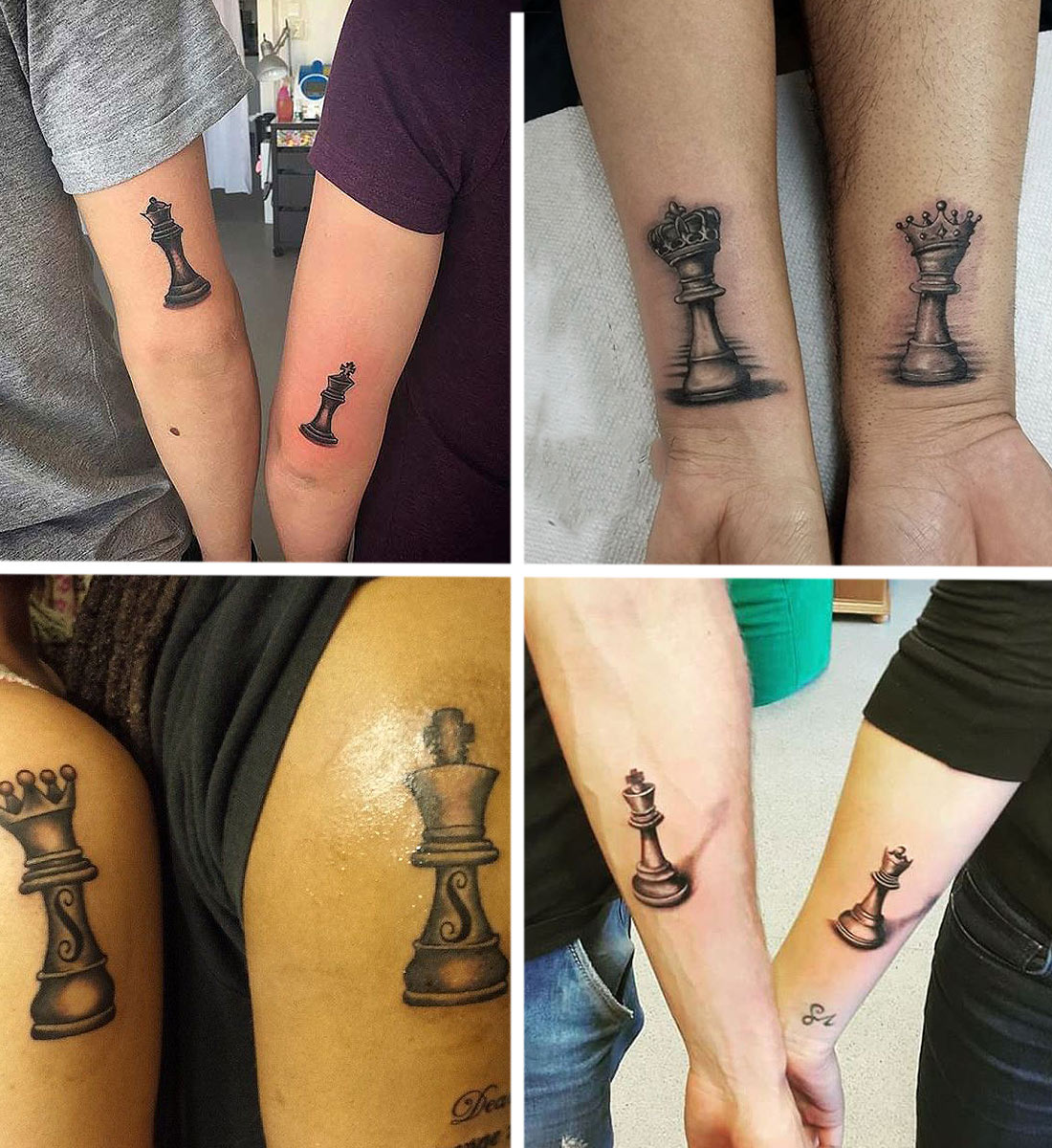chess-tattoos-sports-tattoos-latest-couple-king-queen-chess-fields-tattoo-deas