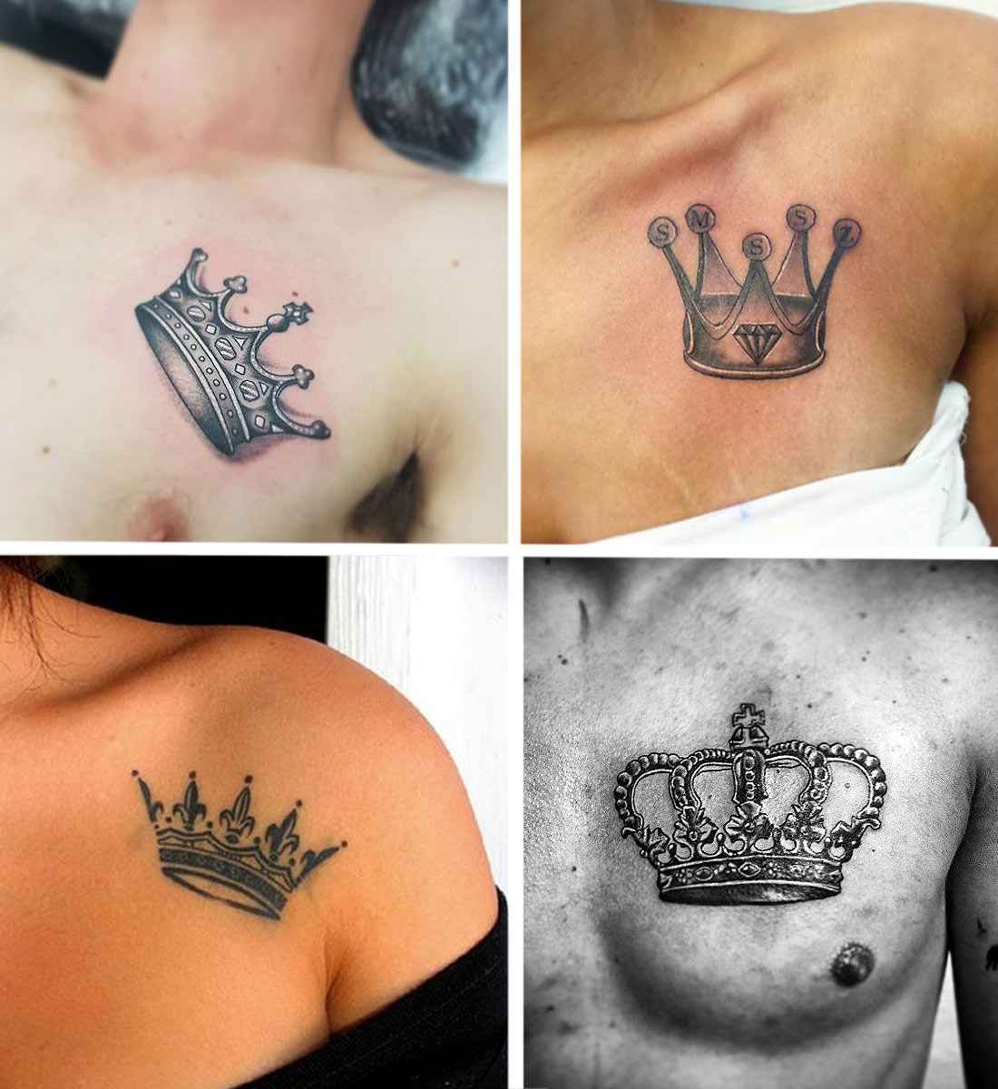 crown-tattoo-on-chest-couple-atttoos-latest-trend-internet