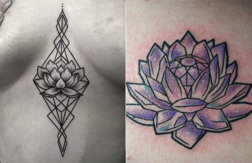 geometric-lotus-tattoo-trends-women-girls-ideas