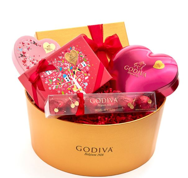 godiva-valentines-day-gift-basket-pretty-gift-box-gourmet-chocolate