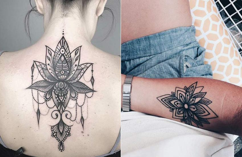 lotus-flower-tattoo-ideas (2)-tribal-tattoos-women-meaning