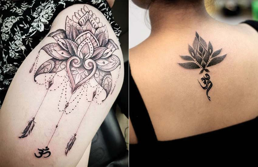 lotus-flower-tattoo-ideas (4)-om-tattoos-meaning-women-girls