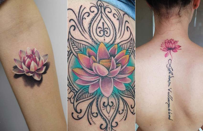 lotus-flower-tattoo-ideas-pink-color-meaning-botanical