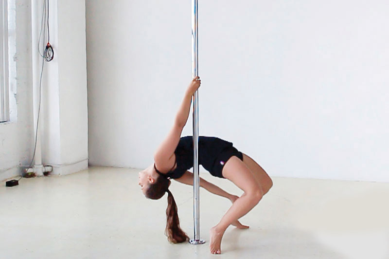 pole-dance-fitness-exercise-beginner-easy-poses-back-bend