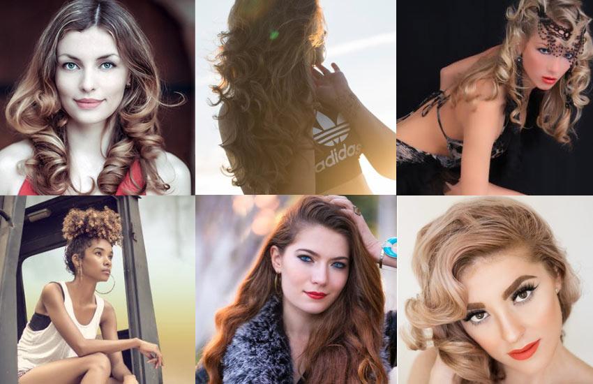 pretty-hair-colors-Curly-hair-different-hair-length-texture