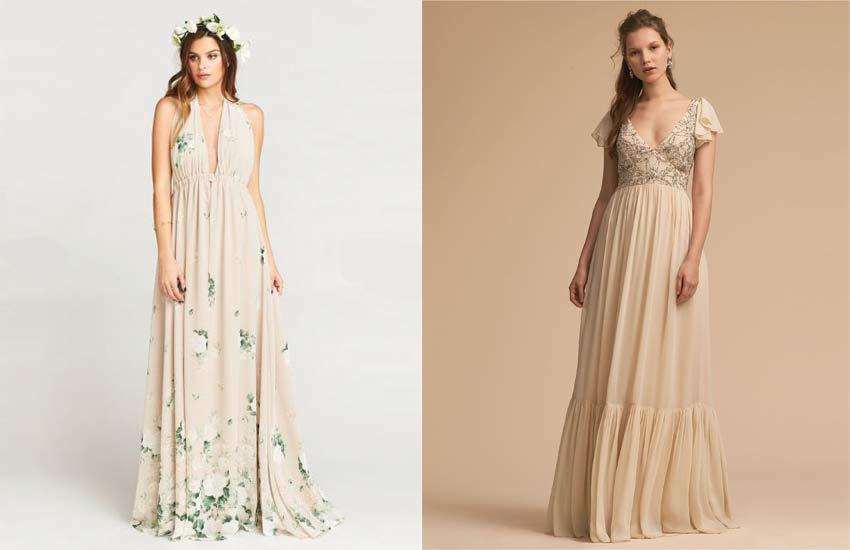 55 hippie wedding dresses best ideas for bohemian for Bohemian wedding dress shops