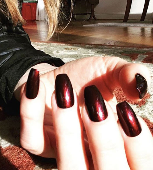 wine-colored-nails-latest-burgundy-shades-burgundy-nail0designs