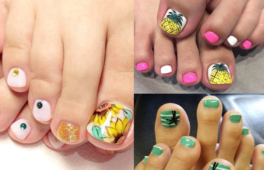 beach-toe-nails-designs-ideas-trends-2018