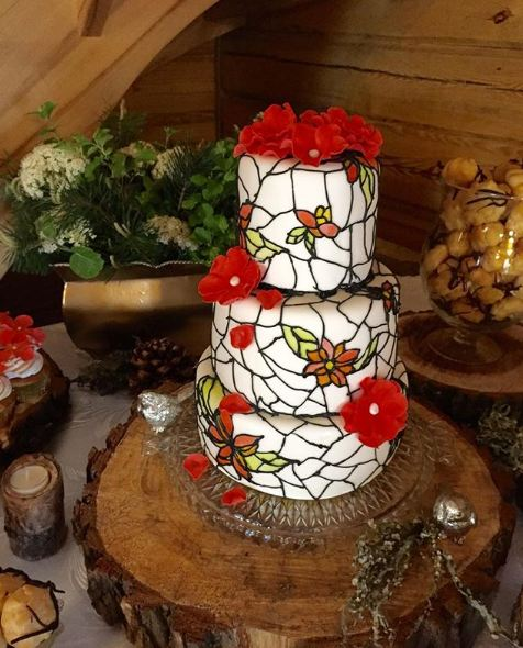 best-latest-creative-cake-trends-ideas-stained-glass-cakes