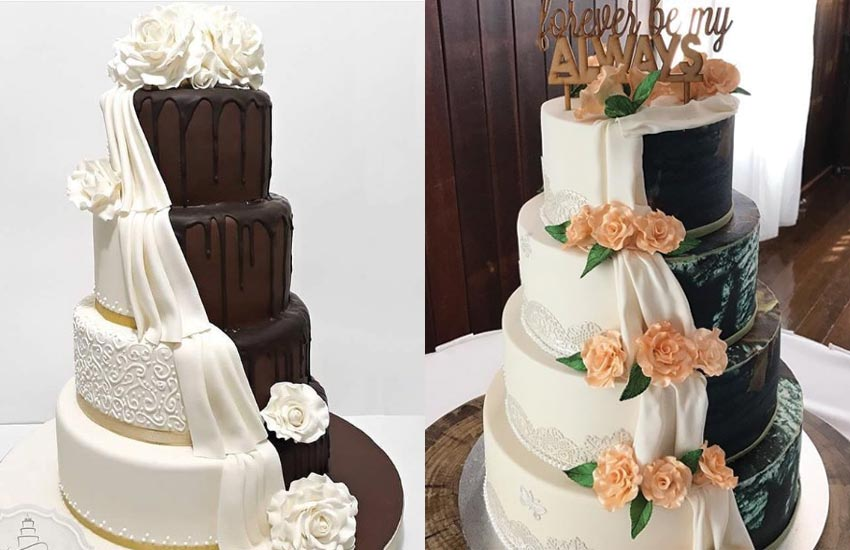 creative-cakes-split-half-and-half-white-chocolate-weddings