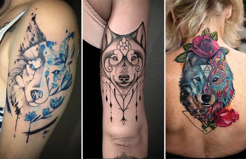 30 wolf tattoo ideas lone wolf other designs with meanings. Black Bedroom Furniture Sets. Home Design Ideas