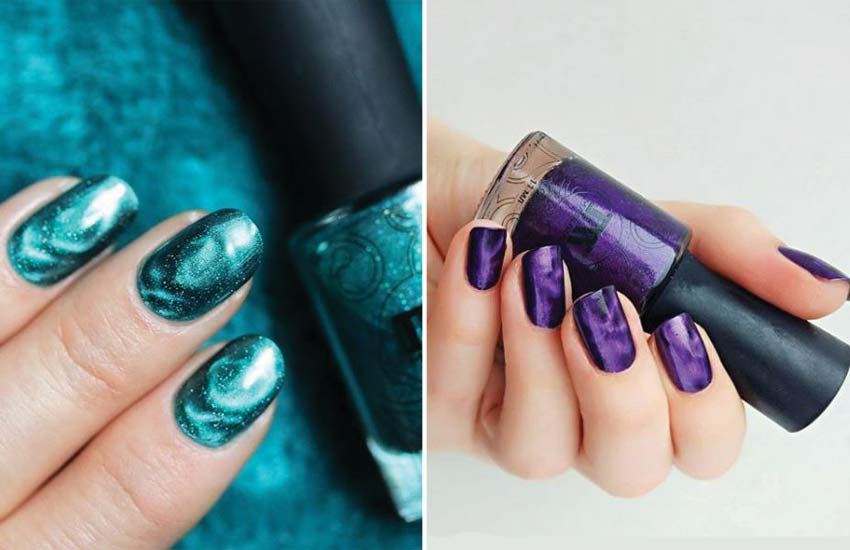 latest-fashion-nail-art-trends-2018-magnetic-nails-polish-paint