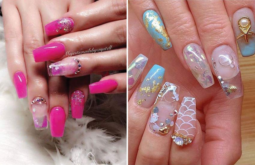 Fashion Nails All The Latest Nail Art Color And Shape Trends